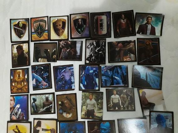 Lote 55 Figurinhas Guardiões Da Galáxia 2 - Livro Ilustrado