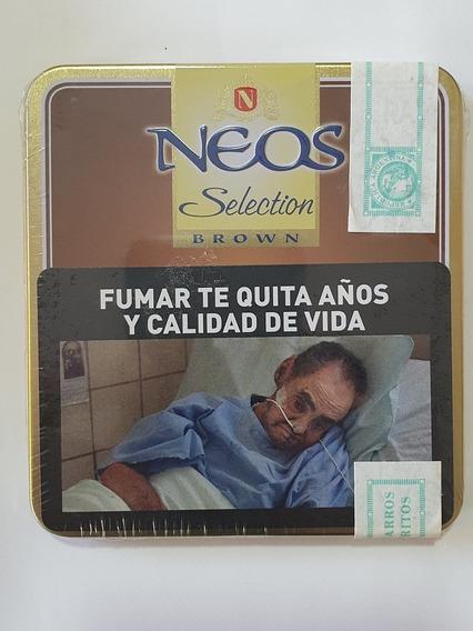 Lata 10 Cigarros Neos Selection Brown