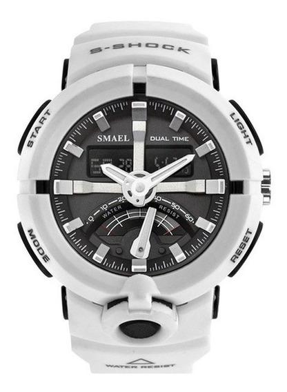 Relógio Smael Masculino Grande, Preço Baixo, Frete Grátis