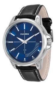 Relógio Mondaine Masculino Pul. Couro Cx. 48 Mm 76604g0mvnh1