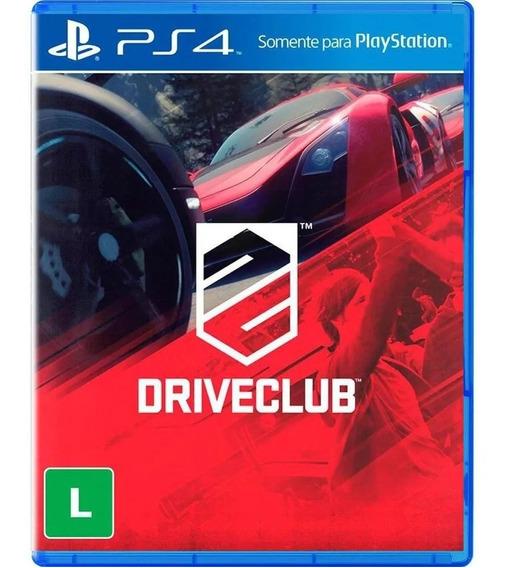 Drive Club - Ps4 - Mídia Física