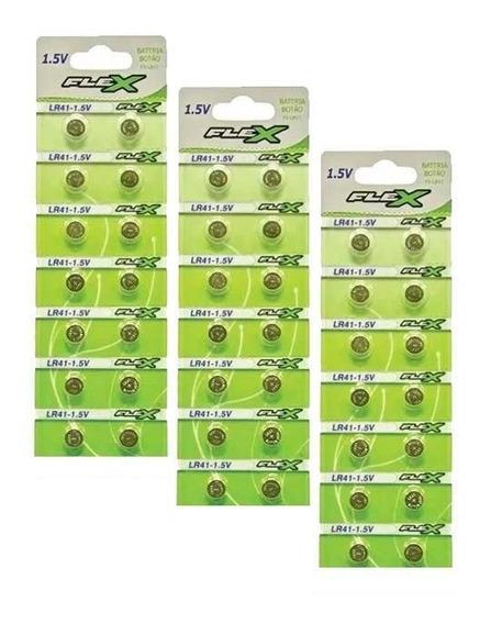 3 Cartelas 14un Bateria Lr41 Ag3 Lr736 392a Pilha 1,5v Lote 42 Pilhas Lr41