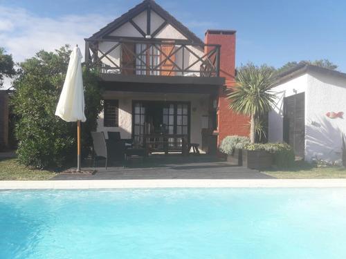 Casa En Playa Anaconda Piscina Climatizada Mts Del Mar Vista