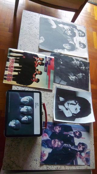 Lote The Beatles Lonchera-fotos-posters Originales Importado