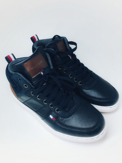 Tênis Tommy Hilfiger Manzu Mid Sneaker Novo. Original