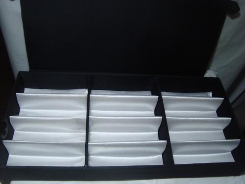 Caixa Estojo Porta  12 Relogios Ou Oculos  Da Reef