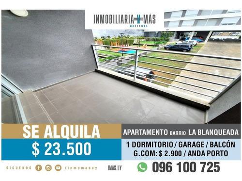 Imagen 1 de 16 de Apartamento Alquiler Tres Cruces Garage Montevideo Lc