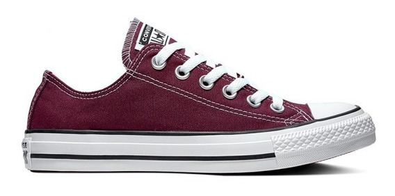 Converse All Star Ct Ox Bordó Sku 164726c