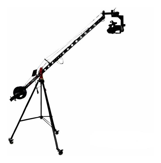 Mini Grua Mx2 P Filmagem Dslr P/ Sony Panasonic Doly E Tripé
