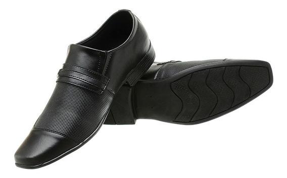 Sapato Social Masculino 36 Ao 45 Preto