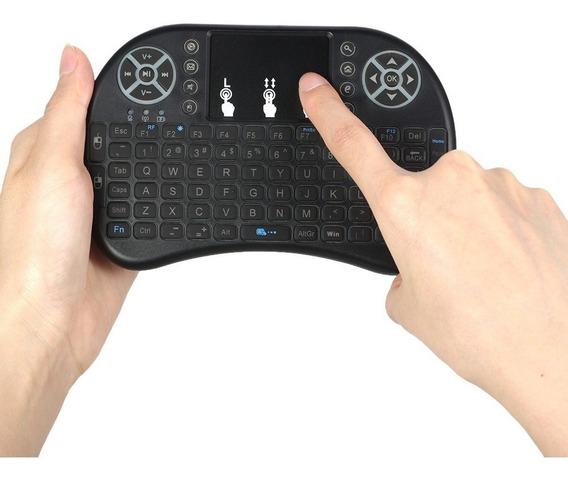 Kit 2 Mini Teclado Wireless Pc Tv, Xbox 360, Ps3, Smartphone