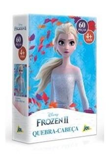 Quebra Cab. 60 Pçs Frozen 2 Elsa Toyster 2671