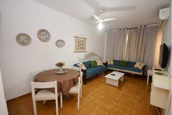 Apartamento A Venda Guarujá Pitangueiras, Andar Alto, Elevadores, Portaria 24 Hrs, 1 Vaga No Prédio. - Ap0966