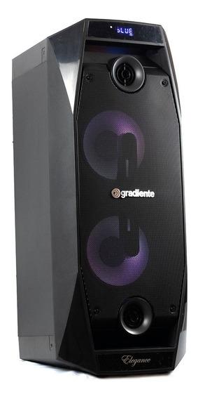 Caixa Amplificada Elegance Gradiente Bluetooth Usb 500w