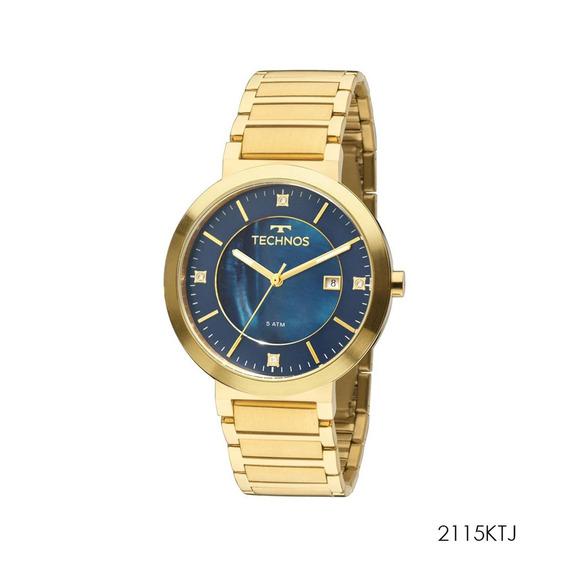 Relógio Technos Feminino Elegance St. Moritz 2115ktj