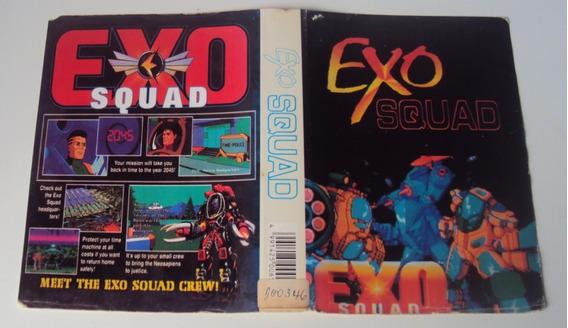 Encarte De Locadora - Exo Squad - Mega Drive