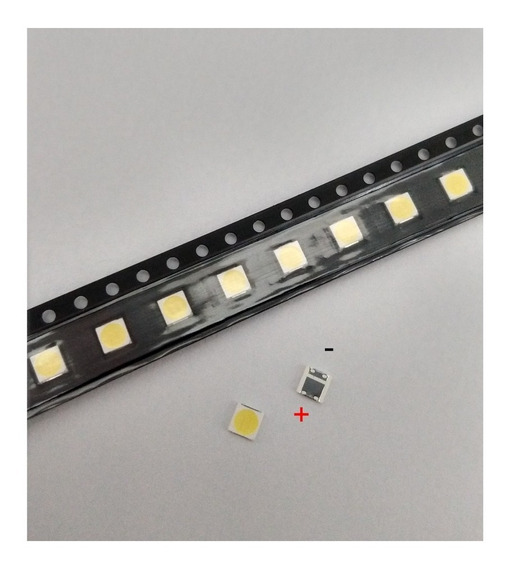Kit 200 Leds 3535 6v 2w Substituto Barras Innotek Led Smd Tv