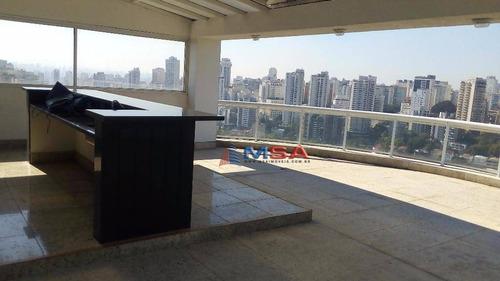 Cobertura Residencial À Venda, Perdizes, São Paulo. - Co0009
