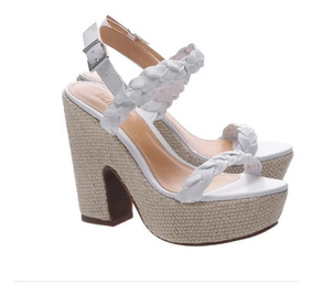 577dc856a Sandalia Schutz Branca - Sapatos com o Melhores Preços no Mercado ...