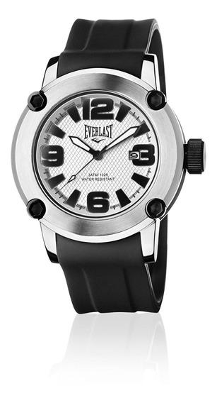 Relógio Masculino Everlast Pulseira Silicone E10330
