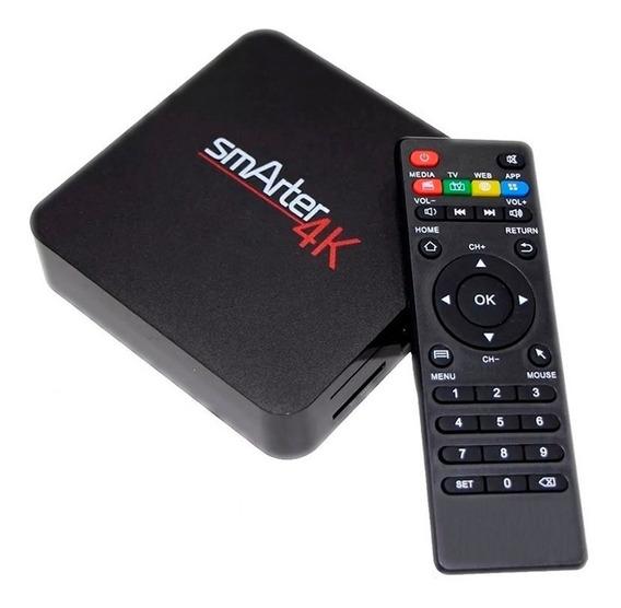 Conversor Smart Tv Android Tv Box 4k Youtube Netflix