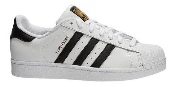 Zapatillas adidas Superstar Blanco/negro - Corner Deportes