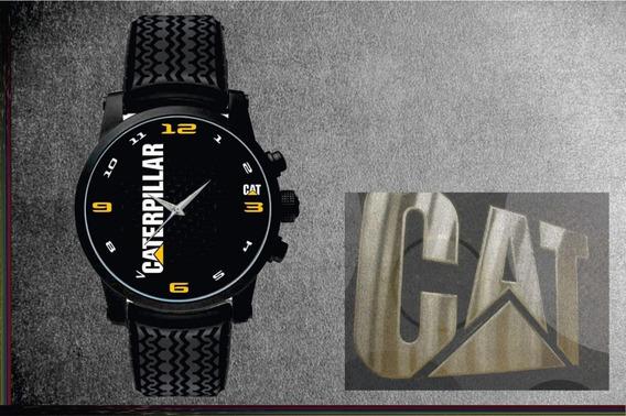 Relógio De Pulso Personalizado Logo Painel Cat Caterpillar 9