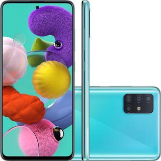 Smartphone Samsung Galaxy A51 128gb Azul - A515f