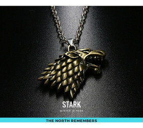 Colar Casa Stark Game Of Thrones-promoção Público Facebook