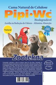 Pipi W.c. Natural P/ Pássaros & Roedores 7 Kg - Zootekna