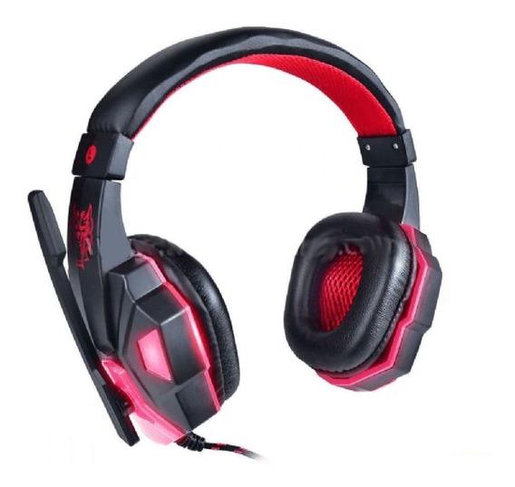 Headfone Gamer Usb Para Ps4 Com Microfone Led E Cabo F