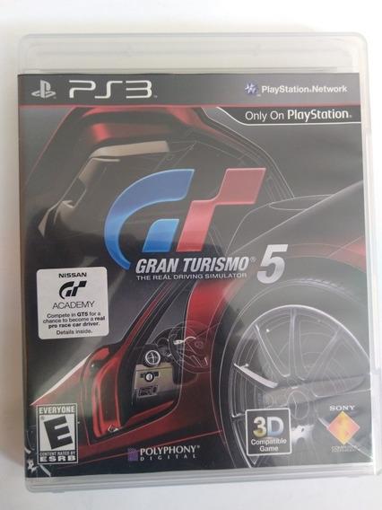Jogo Gran Turismo 5 Ps3 Mídia Física Completo R$37