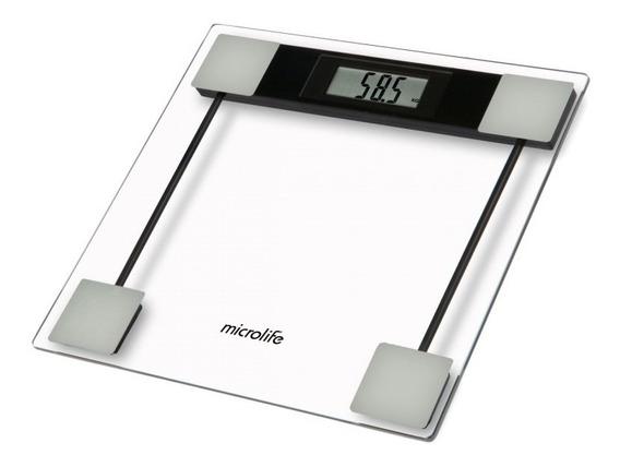 Báscula Digital Plataforma Vidrio Microlife Fitness Baño