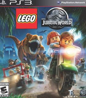 Ps3 Lego Jurassic World Português Brasil - Mídia Digital