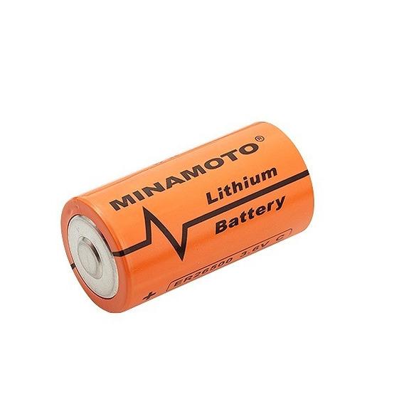 Bateria 3,6v 8500mah C Com Top (26x50mm) 26500