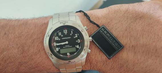 Relógio Hamilton Khaki Field Multi-touch