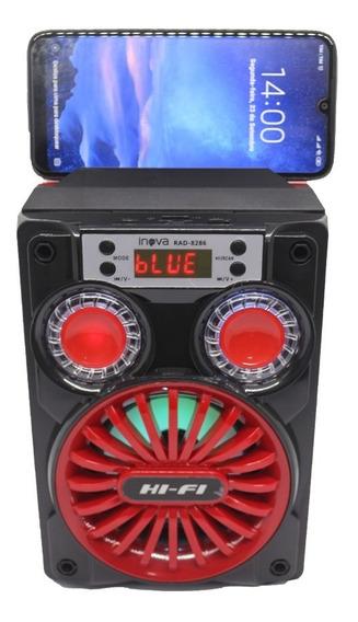 Caixinha Som Portátil Bluetooth Fm P2 Mp3 Cartão Pen Drive