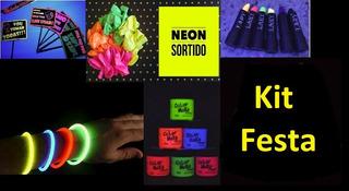 ***frete Gratis*** Kit Festa Balada Neon Person