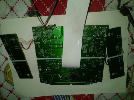 Placa Frontal Display Som Lg Mcd 212