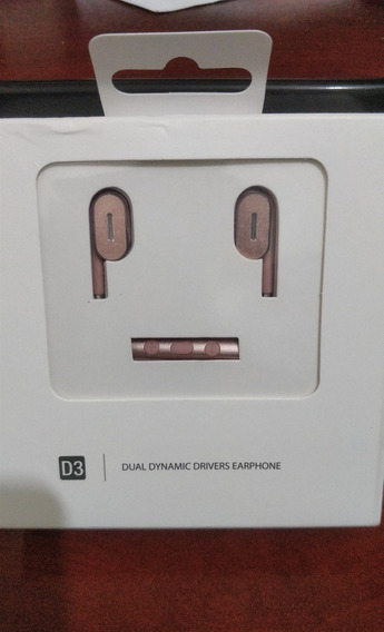 Fone De Ouvido Langsdom Dualdrivers C/ Microfone (rosa/pink)