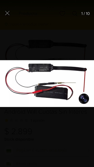 Camara Mini Espia, Con640hp , Wifi , Grabadora Y Microfono