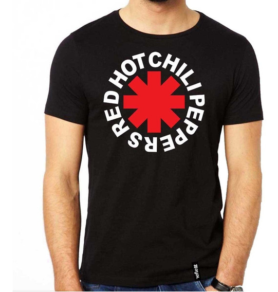 Remera Red Hot Chili Peppers 100% Algodón Calidad Premium