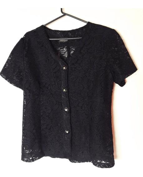Camisa De Encaje Vintage