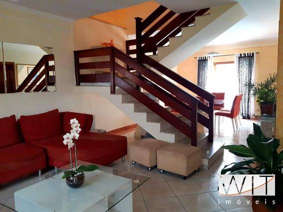 Casa Com 3 Dormitórios À Venda, 200 M² Por R$ 750.000 - Roncáglia - Valinhos/sp - Ca0440