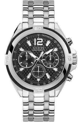 Relógio Guess W1258g1 Prata Original Completo Caixa