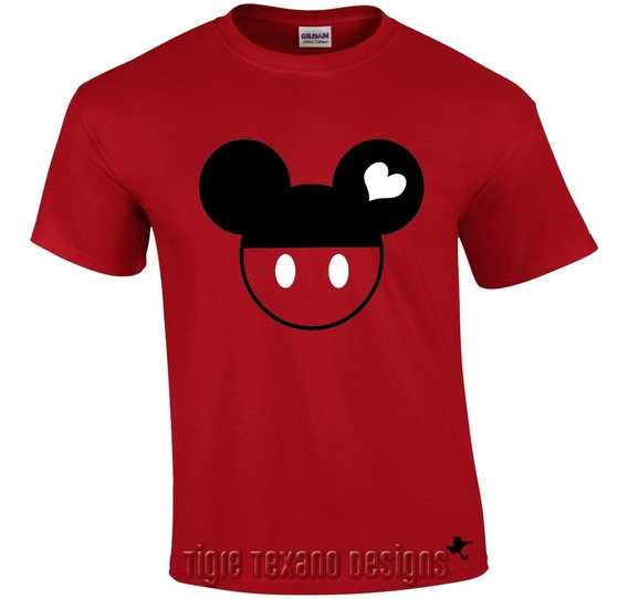 Playera Pareja (el) Mickey Mod. 04 By Tigre Texano Designs
