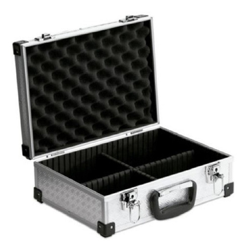 Caja Estuche Maletin Aluminio Organizador Porta Herramientas