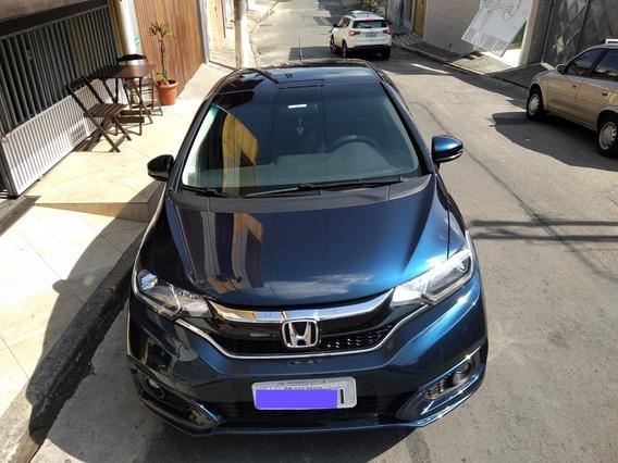 Honda Fit 2018 Azul 1.5 Cambio Automático Cvt