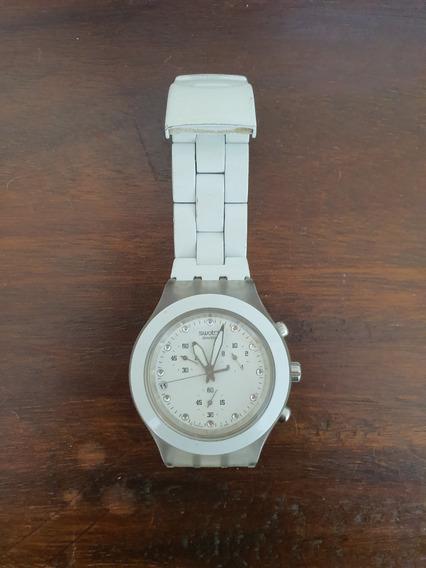 Relógio De Pulso Swatch - Pulseira De Aço
