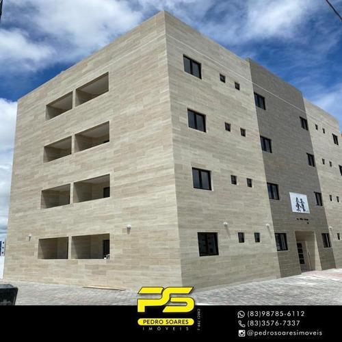 Apartamento Com 2 Dormitórios À Venda, 48 M² Por R$ 140.000 - Valentina De Figueiredo - João Pessoa/pb - Ap4105